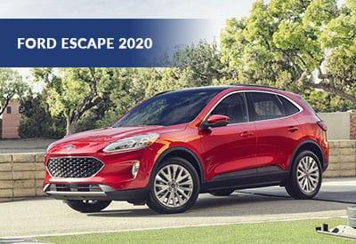 Escape 2020 : le VUS le plus performant jamais construit par Ford!