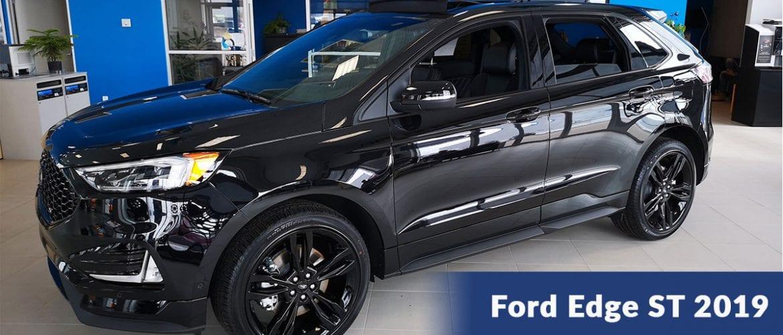 Le Ford Edge Sport est mort; vive le Ford Edge ST!