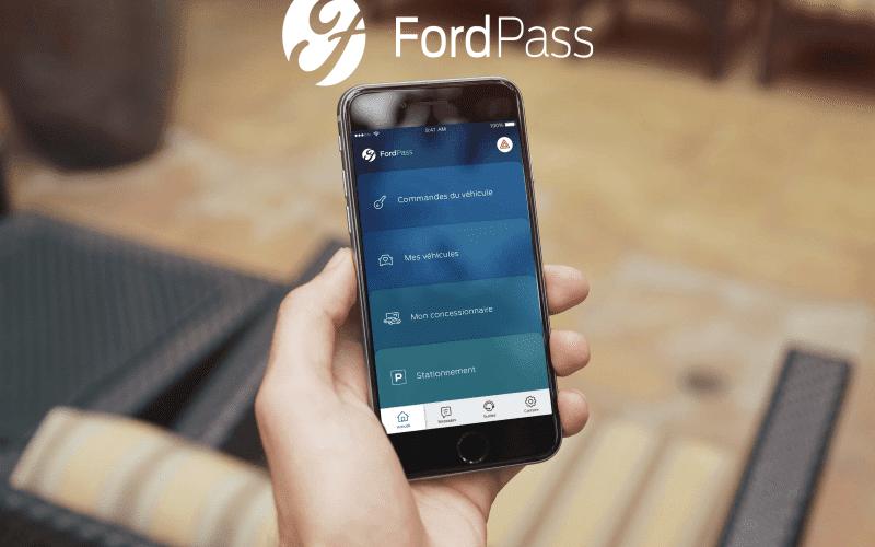 La nouvelle application FordPass