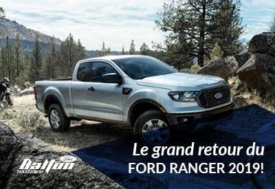 Le Ford Ranger sera officiellement de retour en 2019!