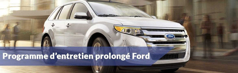 Programme d'entretien prolongé Ford | Auto usagée et auto neuve
