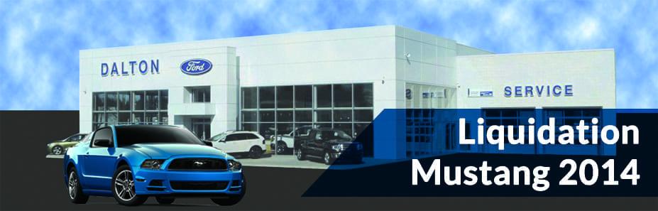 Liquidation de Ford Mustang chez Dalton Ford St-Raymond