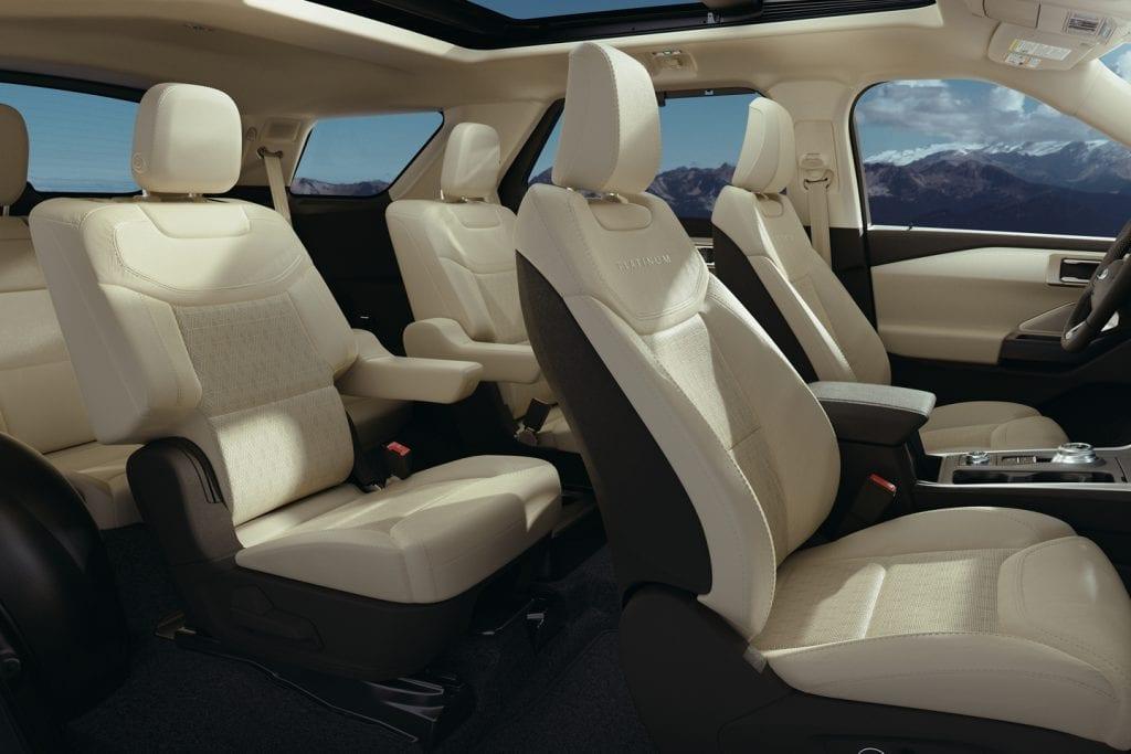 Ford Explorer Hybride 2020