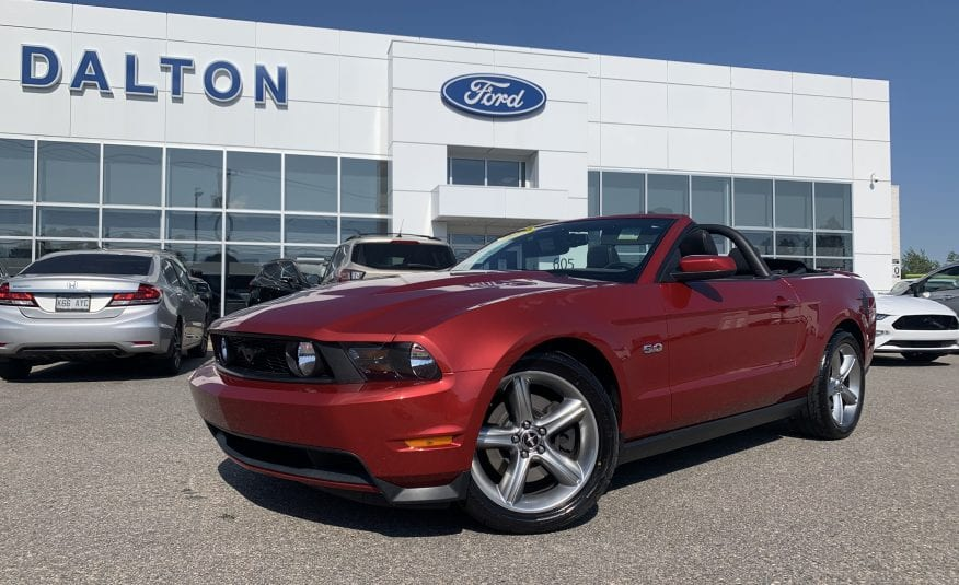Ford Mustang 2011 GT 5.0L convertible automatique