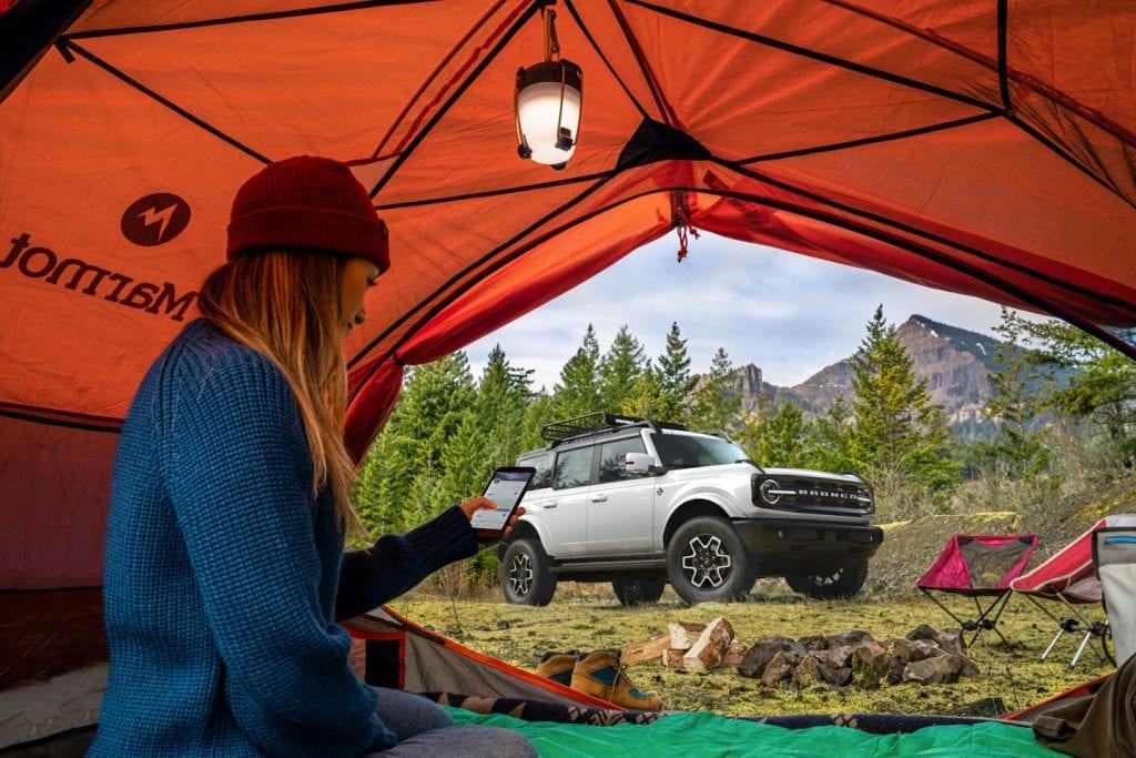 Ford Bronco 2021 - Camping Saint-Raymond, Portneuf, Québec